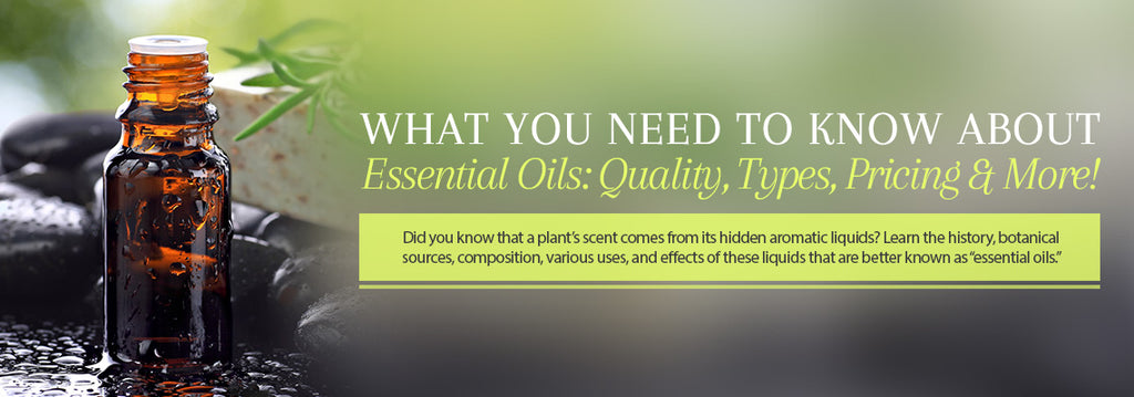 Essential Oil - Uses & Benefits - Essentially You Oils - Ottawa