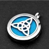Celtic Knot Essential Oil Diffuser Necklace - Essentially You Oils