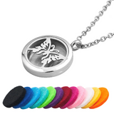 Butterfly Essential Oil Diffuser Necklace - Essentially You Oils