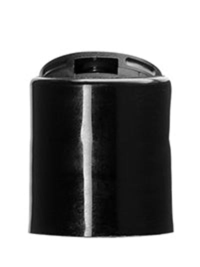 Disc Top Dispensing Cap - Black - 20/410 and 24/410 Neck - Essentially You Oils - Ottawa Canada
