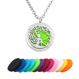 Fairy Essential Oil Diffuser Necklace - Essentially You Oils