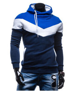2015 5 color contast color Hoodies Men Sweatshirt Male Tracksuit Hooded Jacket Casual Male Hooded Jackets YN005