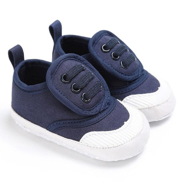 Baby Newborn Girl Boy Toddler Canvas Soft Sole Infant Shoes Prewalker Sneaker