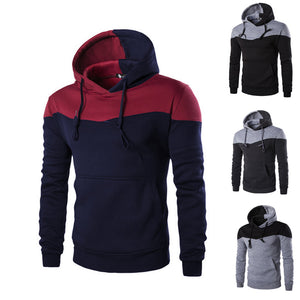 Fashion Men Slim Hoodie Hooded Sweatshirt Coat Jacket Winter Warm Outwear  H9
