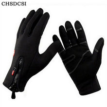CHSDCSI 2017 Windproof luvas de inverno Tactical Mittens for Men Women Warm gloves tacticos fitness luva winter guantes moto