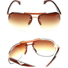 LeonLion 2017 Classic Vintage Sunglasses Man Driving HD Big Frame Sun Glasses Women Brand Designer UV400 Outdoor Oculos De Sol