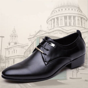 6 Styles Mens Dress Shoes High Quality Business Shoes For Men Shoes Pointed Toe Slip-on Men Wedding Shoes Flats Plus Size 38-46