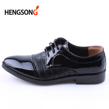 HENGSONG Mens Dress Shoes Pointed Toe Business Wedding Formal Derby Flats Shoes Zapatos Hombre Classic Gentleman Shoes RD910693