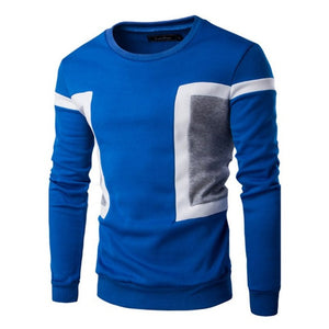 Autumn Winter Fashion Men Slim Fit Long Sleeve Tee Pullover Tops Sweater Casual Tops HOT