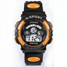 Honhx 2018 Children Watch Kids Boy Digital Quartz Date Fashion Waterproof Sports Wristwatch Girl Watch Christmas Gifts Hot Sale