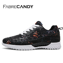 FABRECANDY 2018 Hot Sales Fashion Light Breathable Lace-up Men Shoes Unisex lover Casual Shoes sneakers 36-45
