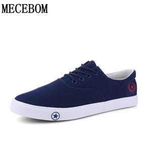 Men's Canvas Shoes hot sale breathable casual shoes for male lace-up vulcanized shoes men flats footwears size 39-44 a507m