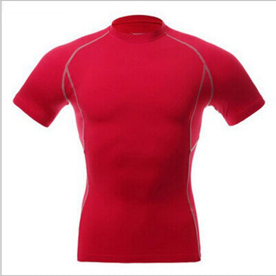 Mens Tops Compression Shirt Base Layer Short Sleeve T-Shirts