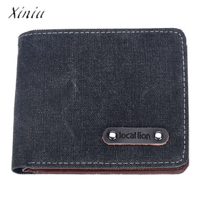 Business Men Wallets Bifold ID Card Holder Purse Wallet Billfold Handbag Slim Clutch New Design Dollar Price Top Wallet Men