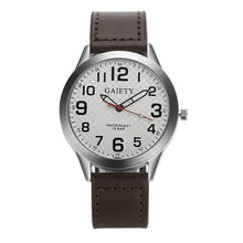 MenFashion Leather Strap watches Casual watch Men Business wristwatches Sports Military quartz watch Relogio Masculino 5-