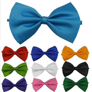 Manfits Classic Adjustable Tuxedo Men Necktie Bowtie Wedding Formal