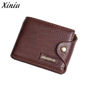 Xiniu Men Wallet Brand Famous Mens Leather Long Wallet Clutch Male Money Purse ID Card Holder Monedero Hombre A7712