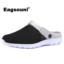 Eagsouni 2018 Summer New Men Mesh Sandals Ultra-light Breathable Couple Beach Men Shoes Casual Female Shoes