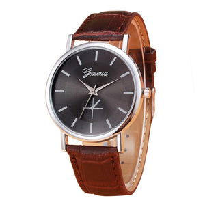 Mens Sports Watches Brand New Luxury Watch Retro Design Casual Clock Leather Band Analog Alloy Quartz Wrist Watch 2016 Hot Sale