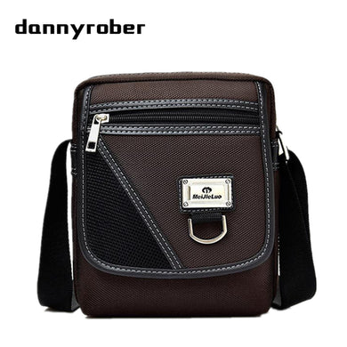 2017 Fashion Male Shoulder Crossbody Bags High Quality Oxford Small Business Bag Men Casual Messenger Bag Travel Waist Pack