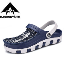 DJSUNNYMIX 2018 Outdoor Men Shoes Breathable Cool Summer Slippers Breathable Shoes Men Beach Sandals  Hollow