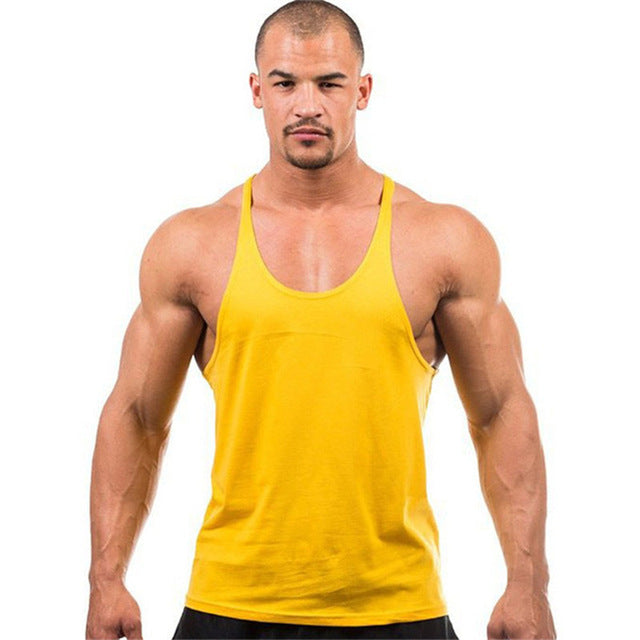 [EXILIENS] Men's Vest Brand Man Underwear Sexy Undershirts Condole Belt Cotton Fitness Sleeveless Elastic Force Male Size M-2XL