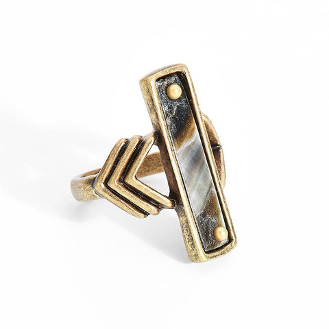 Antique Arrow Ring - lola wolfe | handmade jewelry designs
