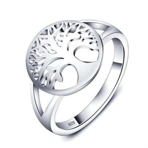 Tree Of Life Sterling Silver Ring - lola wolfe | handmade jewelry designs