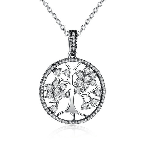 Silver Tree Of Life Necklace - lola wolfe | handmade jewelry designs