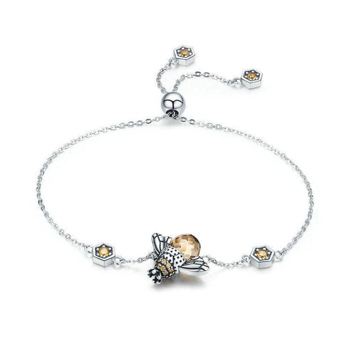 Honey Bee Bracelet - lola wolfe | handmade jewelry designs