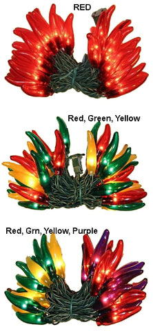 Chili Pepper Light String