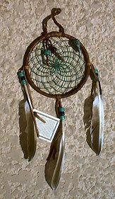 Native American Dream Catcher Ornament