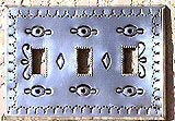 Hand Punched Tin Switch Plates