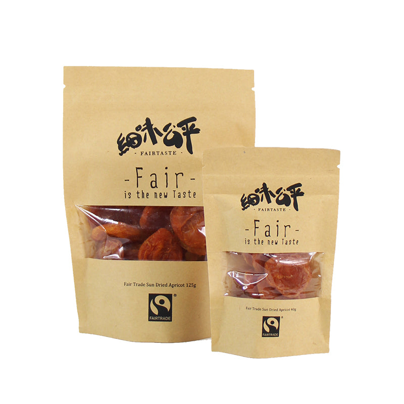FAIRTASTE SUN DRIED APRICOTS (125G)