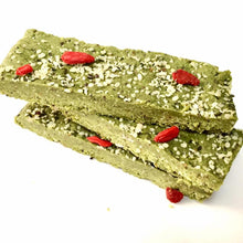 Antioxidant, Energy & Metabolism: Matcha & Goji Energy Bar (Frozen)