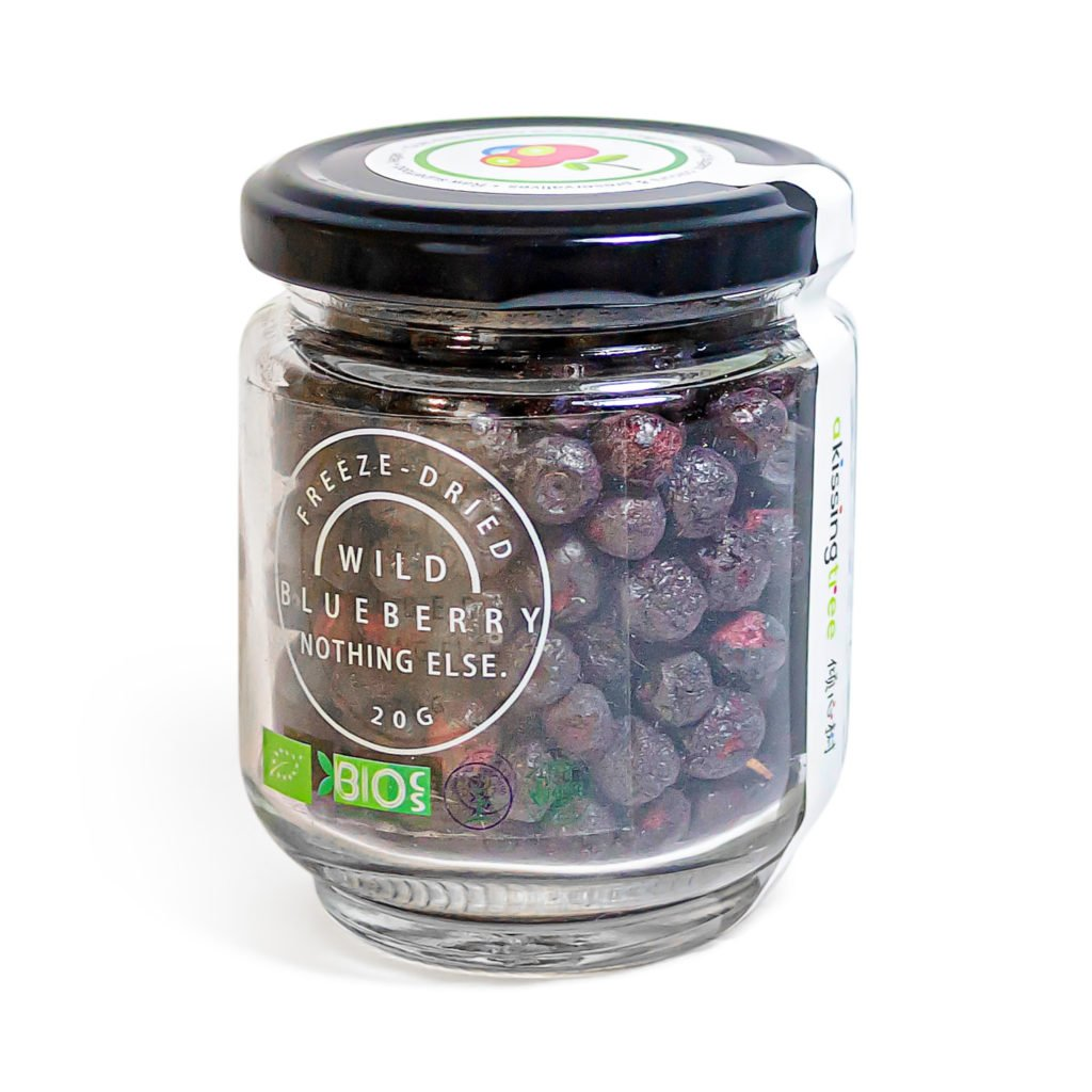 Wild Blueberry - Glass Jar 15g