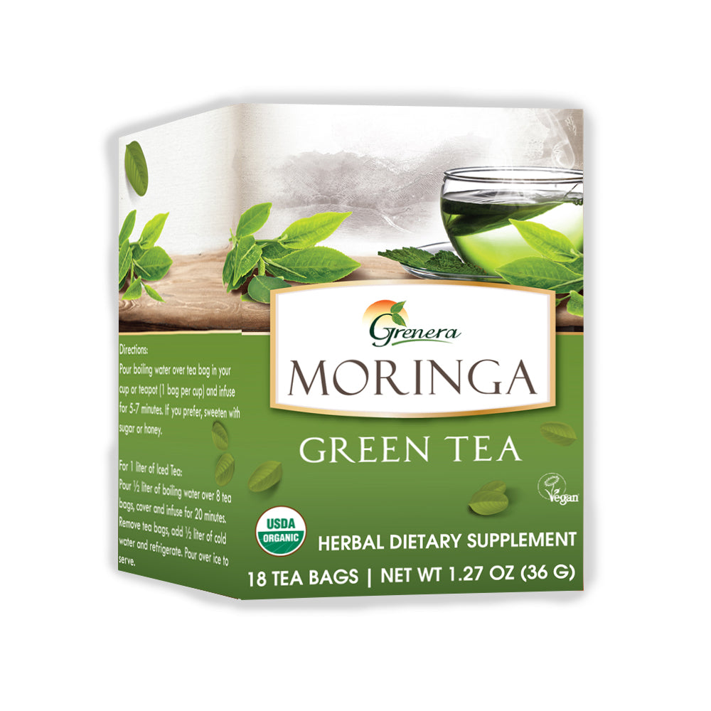 Moringa Green Tea Infusion
