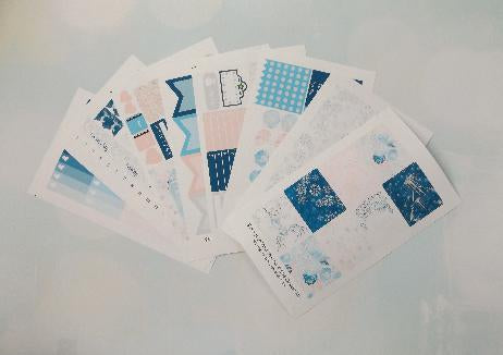 Ice Queen - Weekly Sticker Kit