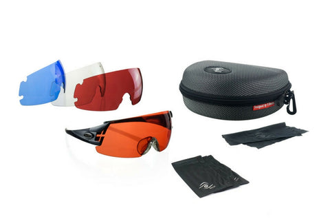 Shooting glasses 4 lens kit