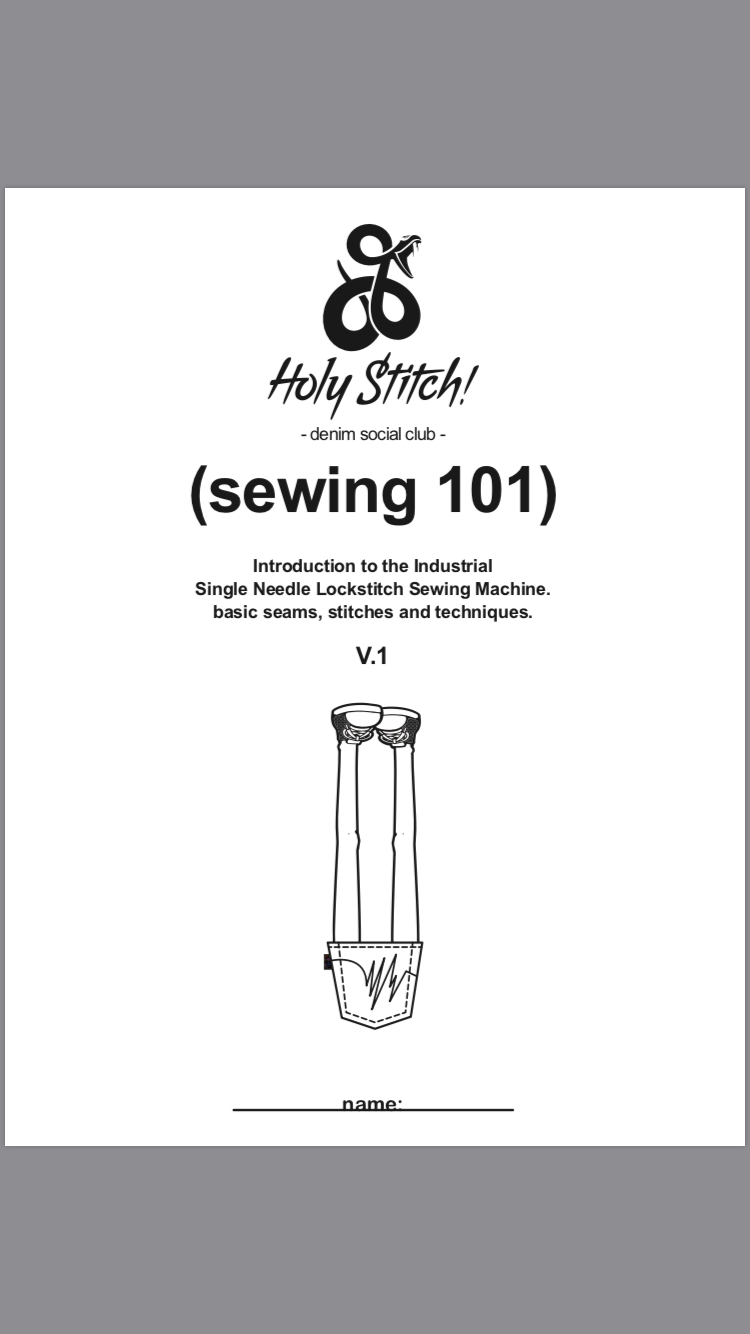 Holy Stitch! ® : Curriculum : Sewing 101