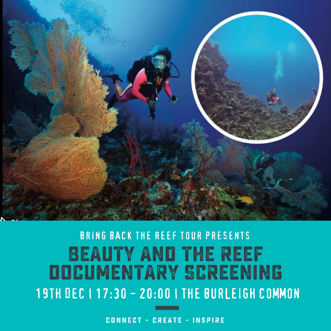 Beauty and the Reef Documentary Screening (19th Dec) || Bringing the Reef Back Tour