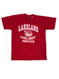 (L) Lakeland Foul-Shot Shooter Red T Shirt 032521.
