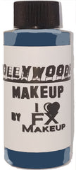 Death Blue - HollywoodFX Waterproof Smudgeproof Hybrid Alcohol Airbrush Makeup
