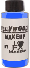 GLOW Blue - HollywoodFX Waterproof Smudgeproof Hybrid Alcohol Airbrush Makeup