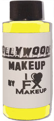 GLOW Yellow - HollywoodFX Waterproof Smudgeproof Hybrid Alcohol Airbrush Makeup