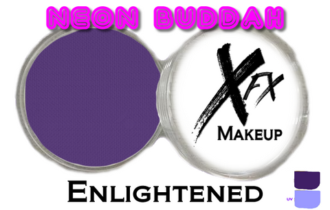 Neon Buddah Enlightened (UV) - AquaWorX Face & Body Makeup - 32g & 90g