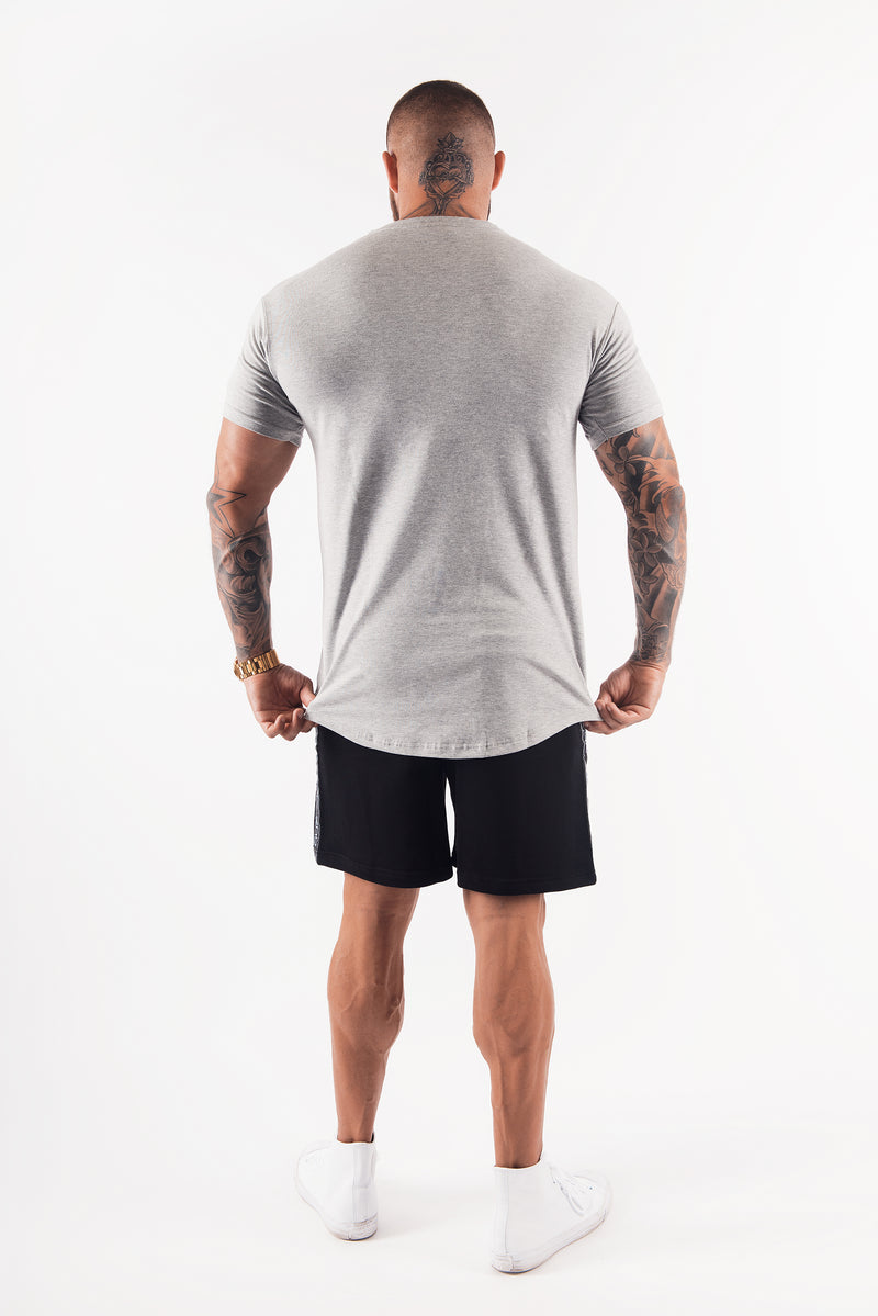 TRADEMARK TEE - LIGHT GREY