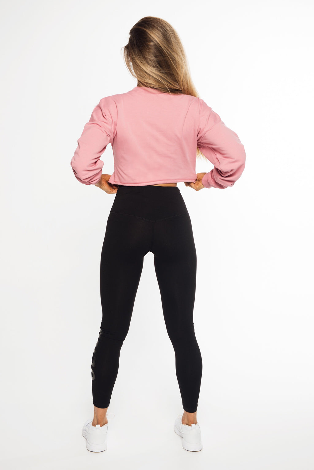 SHORTY CROP JUMPER - DUSTY PINK