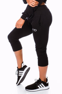 BALLER TRACKIES - BLACK