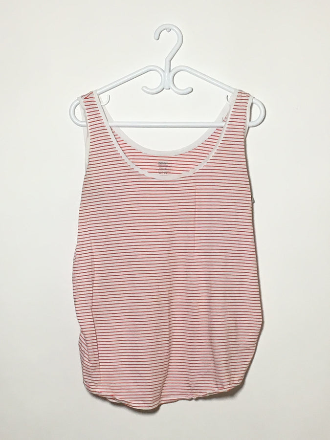 Red/White Stripe Tank